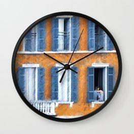 Look Through Any Window Wall Clock