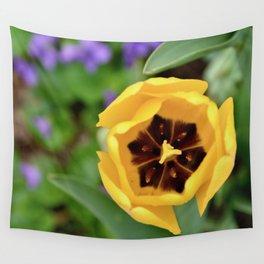 Sun Tulip Wall Tapestry