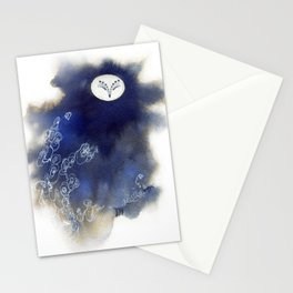 Ghost Owl Stationery Cards