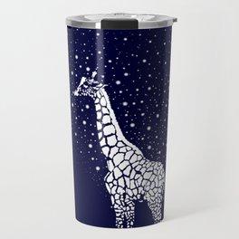 Hollow-Albino Giraffe Travel Mug