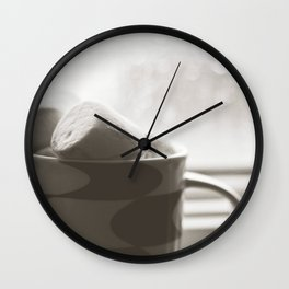 sunday hot chocolate.  Wall Clock
