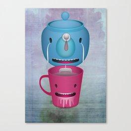 Tea Potty Canvas Print