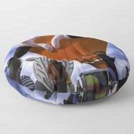 Hot Air Balloon Floor Pillow