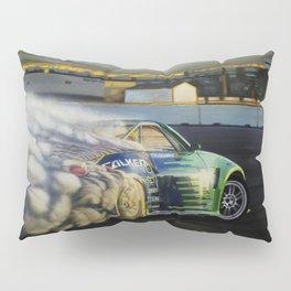 Drifting Car III Pillow Sham