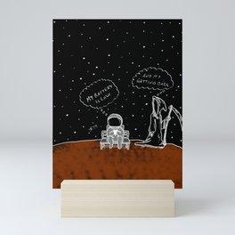 Opportunity Is Dark Mini Art Print
