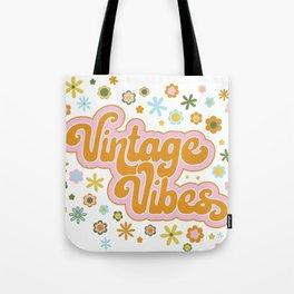Vintage Vibes Tote Bag