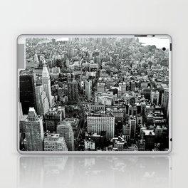 NEW YORK CITY # Black&White Laptop & iPad Skin