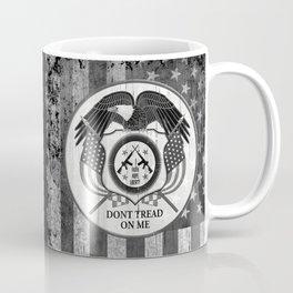 Faith Hope Liberty & Freedom Eagle on US flag Coffee Mug