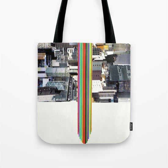 The Invisible Cities (dedicated to Italo Calvino) Tote Bag