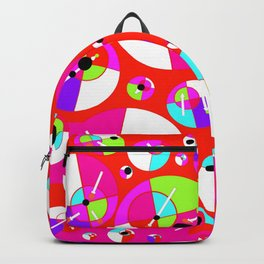 Bubble Red Backpack