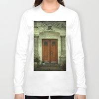portal Long Sleeve T-shirts featuring Portal by freedom-of-art