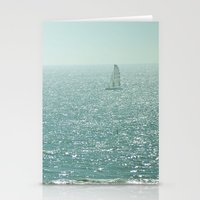 sailing Stationery Cards featuring Sailing by Catherine Holcombe