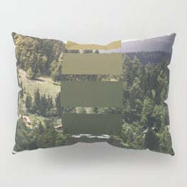 The sea, the land, the mountains Pillow Sham