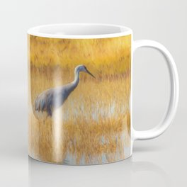 Sandhill Cranes in Fall Coffee Mug