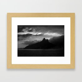 two brothers Framed Art Print