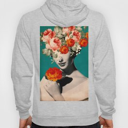 WOMAN WITH FLOWERS Hoody