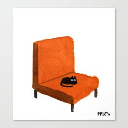 Favorite Chair Canvas Print