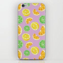 Citrus Pattern iPhone Skin
