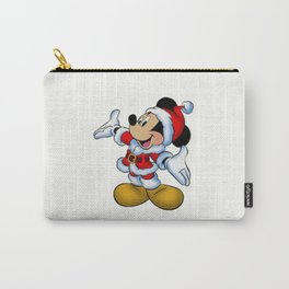 Christmas Mickey Mouse Carry-All Pouch