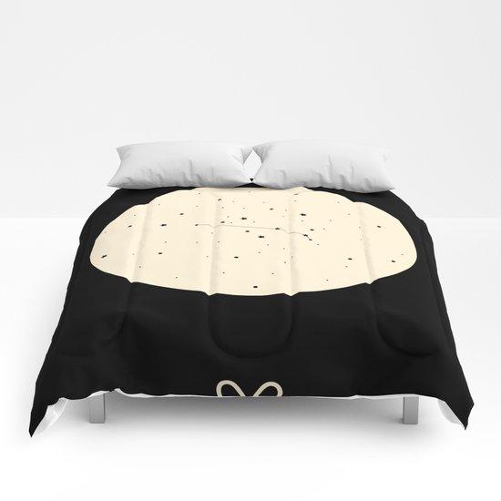 Aries - Black Comforters
