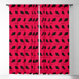 Angry Animals - Fat Cat Blackout Curtain