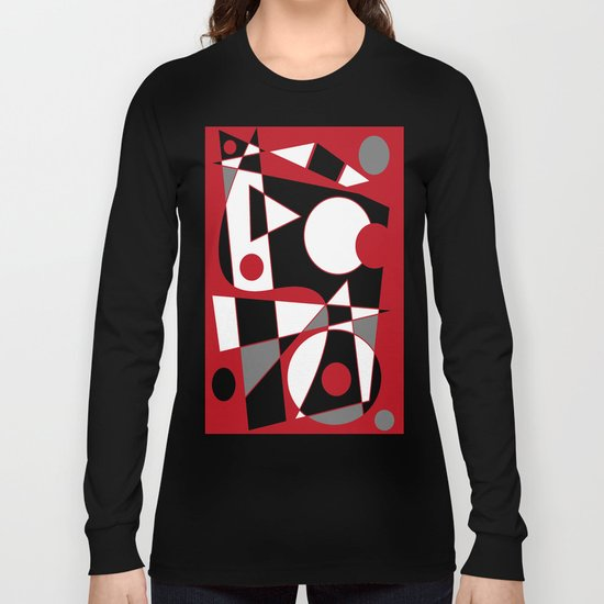 Abstract #185 Long Sleeve T-shirt