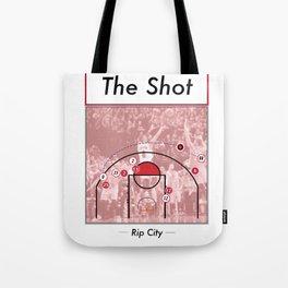 The Shot Series - Damian Lillard Tote Bag