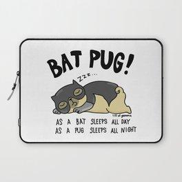 Bat Pug! Laptop Sleeve