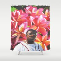 gucci Shower Curtains featuring gucci mane floral by Cree.8