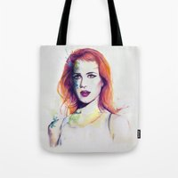paramore Tote Bags featuring If There's a Future by André Luiz Barbosa