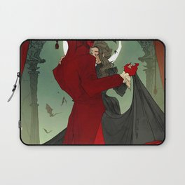 Dance with the Devil Laptop Sleeve
