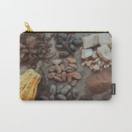 Cacao, beans, chocolate Carry-All Pouch