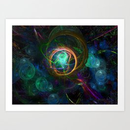 Consciousness Realized Art Print