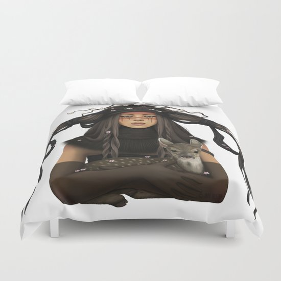 WAR PAINT Duvet Cover