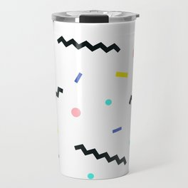 Memphis pattern 59 Travel Mug