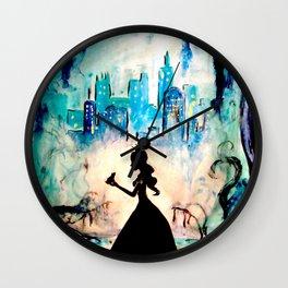 Enchanted love Wall Clock