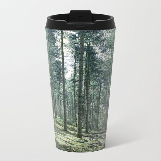 The pines forêt Metal Travel Mug