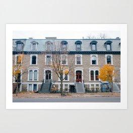 Montreal / Fall Art Print