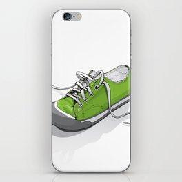 A Green Shoe iPhone Skin