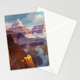 Temple of the Indian Gods (Grand Canyon) by William R. Leigh Stationery Cards
