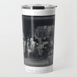 """Falstaff and his friends. (""""The Merry Wives of Windsor"""") Room Decor Travel Mug"""