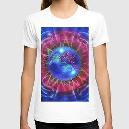 Abstract in perfection - Fertile Imagination Rose 2 T-shirt