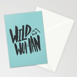 Wild Woman x Blue Stationery Cards