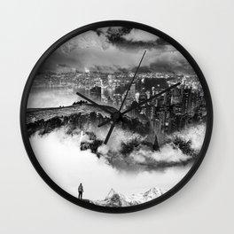 Lost city of Oz Wall Clock