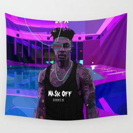 Mask Off Wall Tapestry
