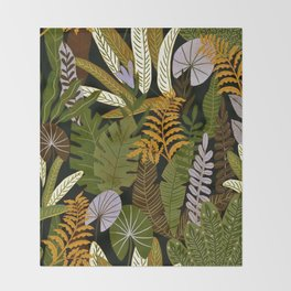 Rain Forest Throw Blanket