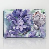 lavender iPad Cases featuring Lavender by A cup of grey tea