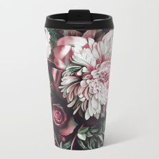 FLORAL PATTERN19 Metal Travel Mug