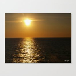 Horizontal Horizon  Canvas Print