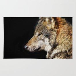 Wolf - The Alpha animal Rug